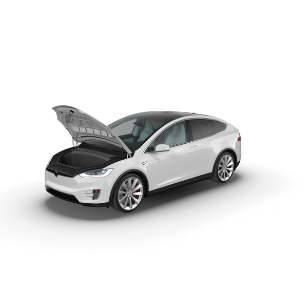 Sedan: Tesla Model X PNG & PSD Images