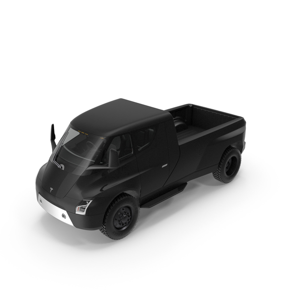Pick Up Truck: Tesla Pickup Electric Concept PNG & PSD Images