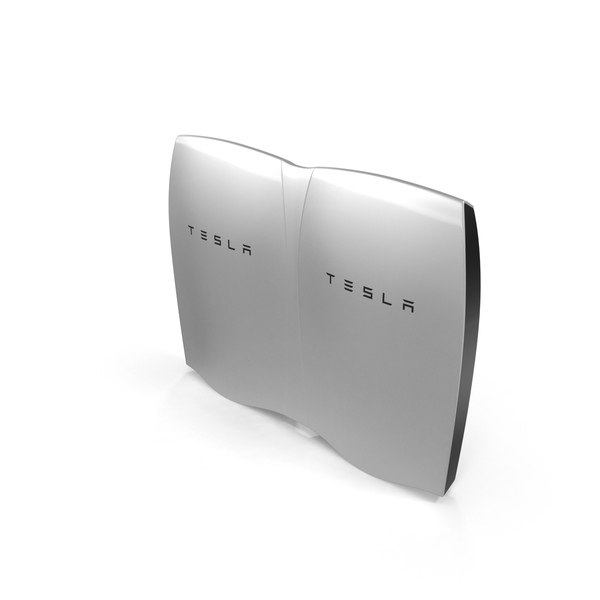 Fuel Cell: Tesla Powerwall Double Unit Set PNG & PSD Images