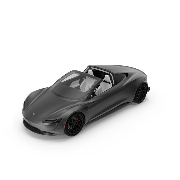Tesla Roadster 2017 PNG & PSD Images