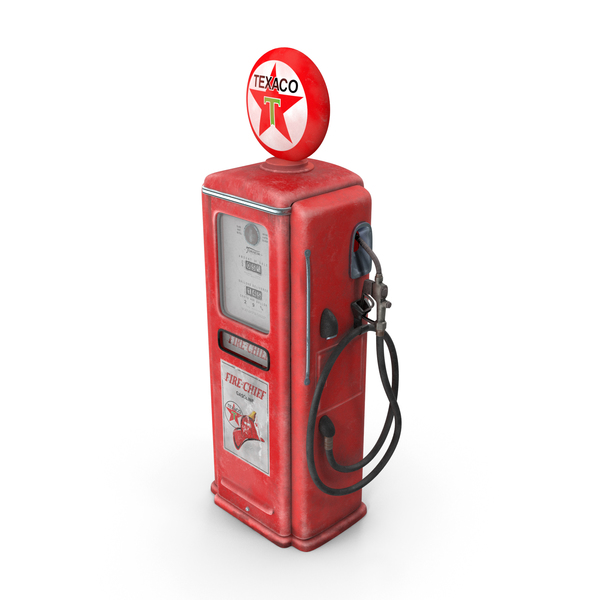 Texaco Gas Pump PNG & PSD Images