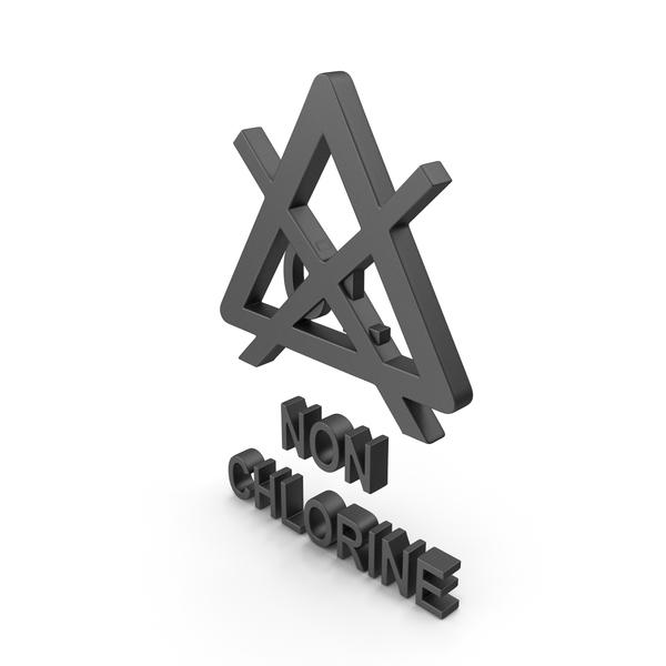 Symbols: Textile Care Symbol Non Chlorine PNG & PSD Images
