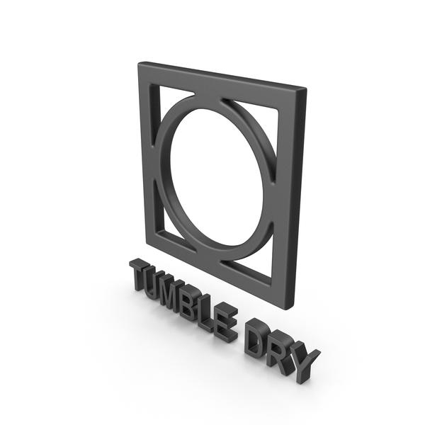 Symbols: Textile Care Symbol Tumble Dry PNG & PSD Images