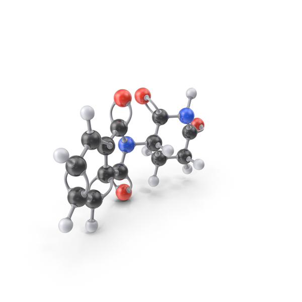 Thalidomide Molecule PNG & PSD Images