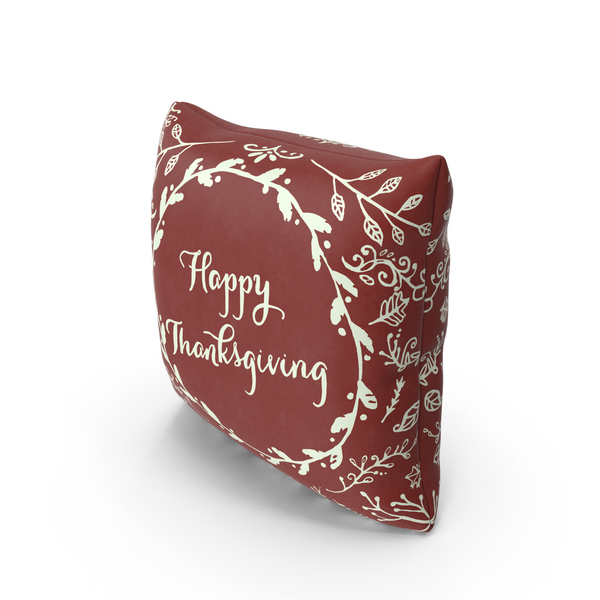 Thanksgiving Pillow PNG & PSD Images