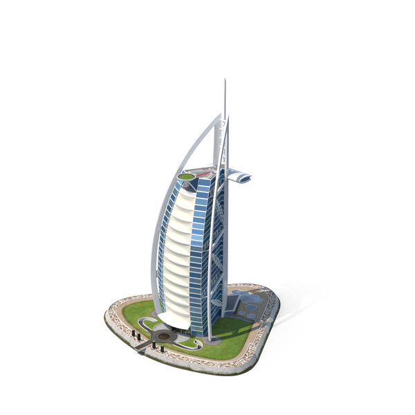 Skyscraper: The Burj al Arab PNG & PSD Images