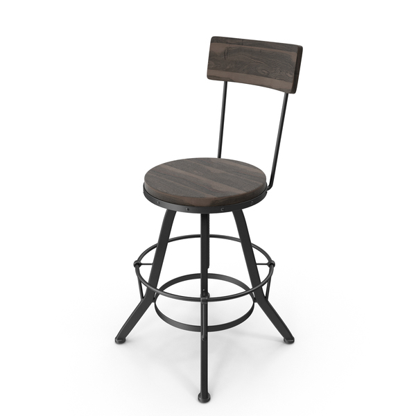 The Gray Barn Horseshoe Barstool PNG & PSD Images