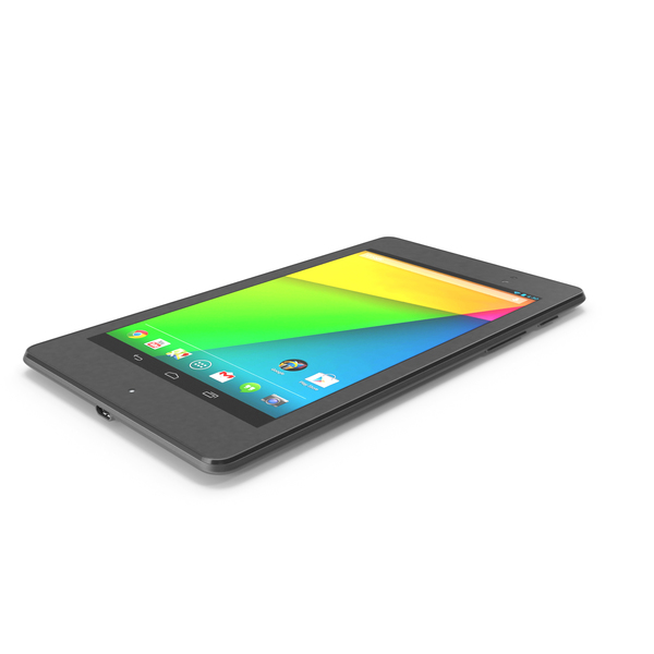The New Google Nexus 7 2013 PNG & PSD Images
