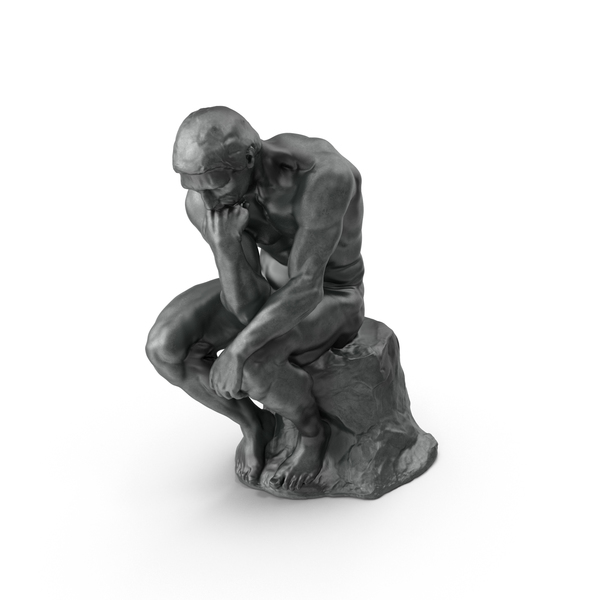 The Thinker PNG & PSD Images