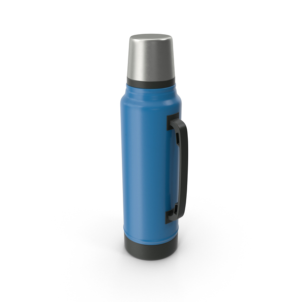 Thermos Blue PNG & PSD Images