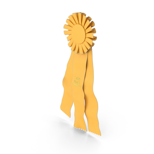 Third Place Prize Ribbon PNG & PSD Images