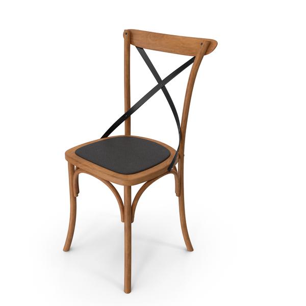 Thonet Chair Oak Black PNG & PSD Images