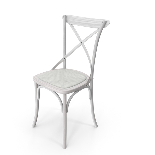 Dining: Thonet Chair White PNG & PSD Images