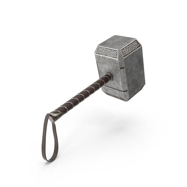 Thor's Hammer Mjölnir Object