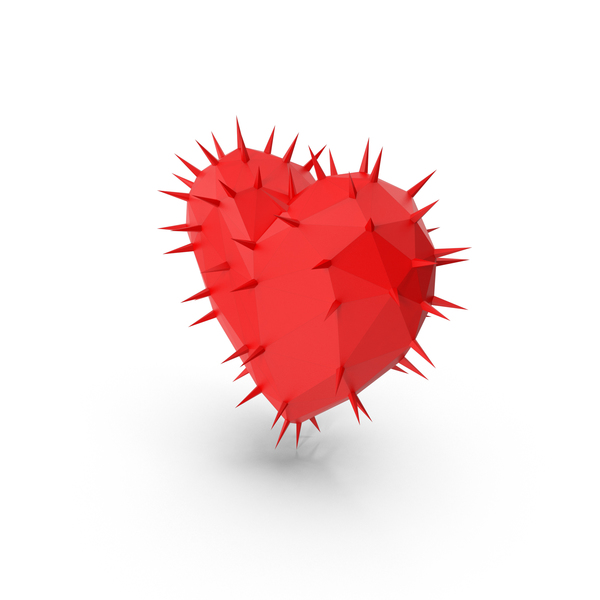 Thorny Heart PNG & PSD Images