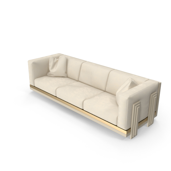 Three Seater Sofa PNG & PSD Images