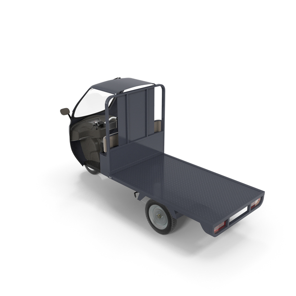 Three Wheeler Cargo Rickshaw PNG & PSD Images