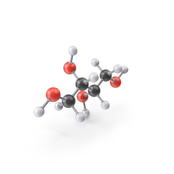 Threitol Molecule PNG & PSD Images