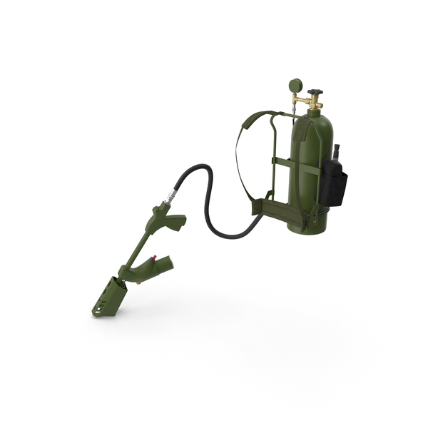 Throwflame XL18 Backpack Flamethrower PNG & PSD Images
