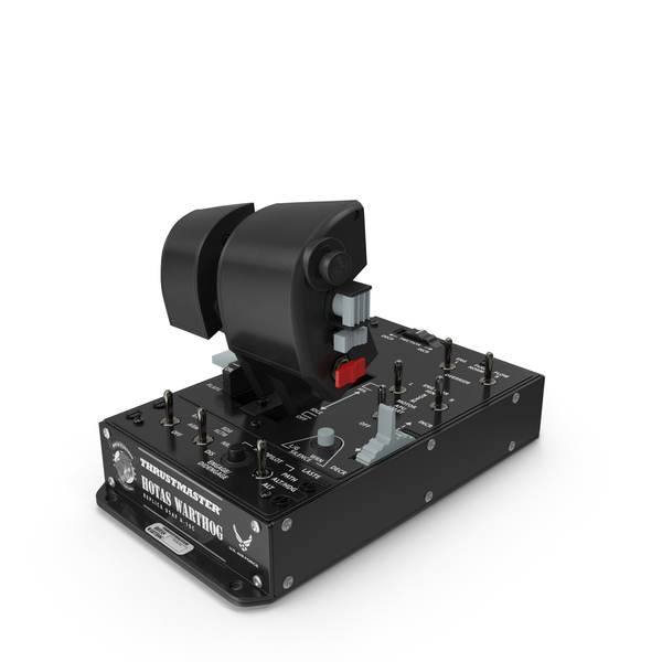 Centre Stick: Thrustmaster Hotas Warthog Dual Throttles PNG & PSD Images