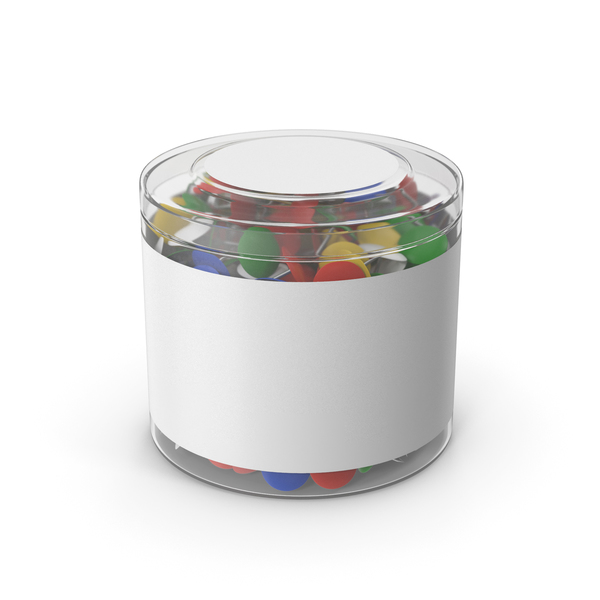 Thumb Tack With Plastic Cup PNG & PSD Images