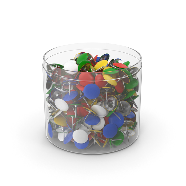 Thumb Tack With Plastic Cup Opened PNG & PSD Images