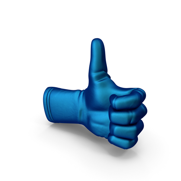 Thumbs Up Glove Silk PNG & PSD Images