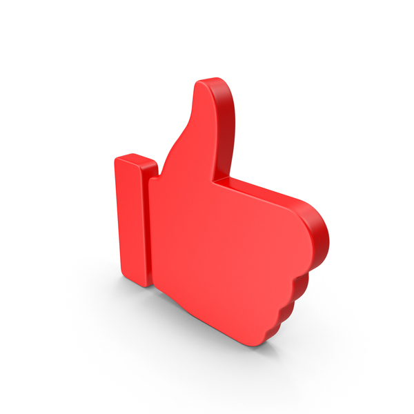 Thumbs Up Red Web Icon PNG & PSD Images