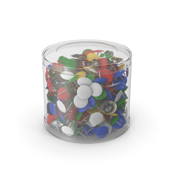 ThumbTack Plastic Box PNG & PSD Images