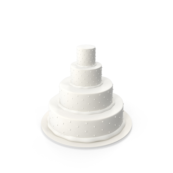 Wedding: Tiered Cake PNG & PSD Images
