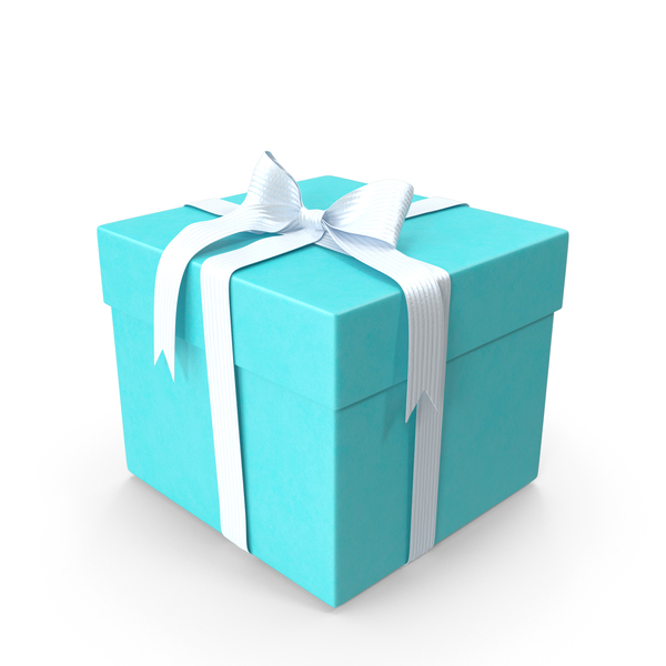 Jewelry: Tiffany Blue Box PNG & PSD Images