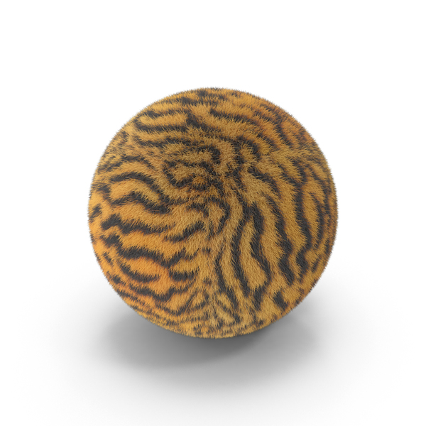 Tiger Fur Ball PNG & PSD Images