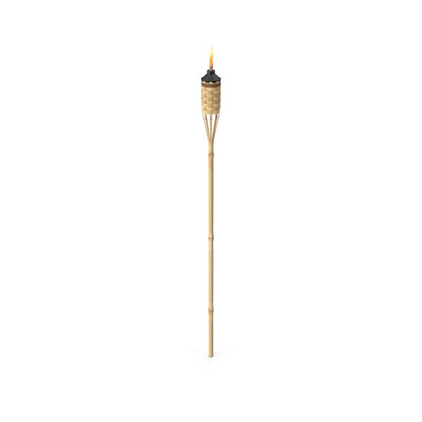Lamp: Tiki Torch PNG & PSD Images