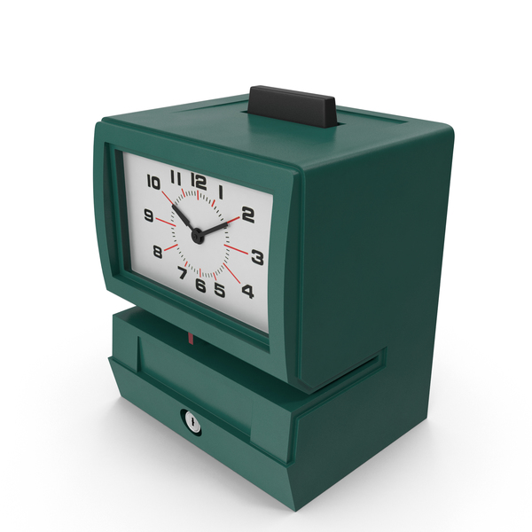 Time Punch Clock PNG & PSD Images