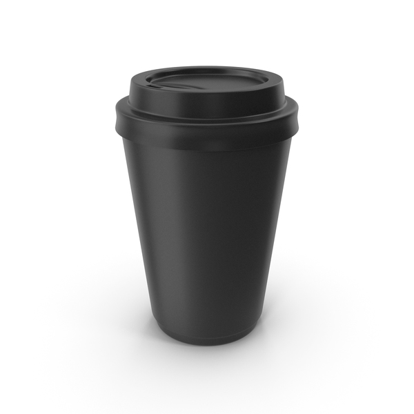 To Go Coffe Cup Black PNG & PSD Images