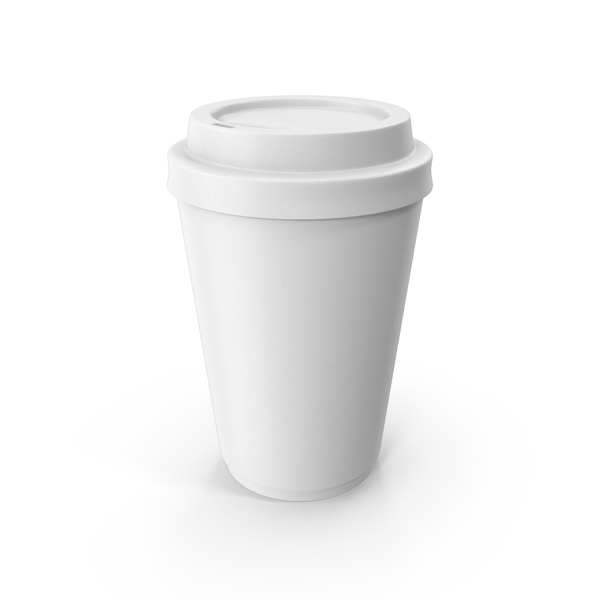 To Go Coffe Cup White PNG & PSD Images