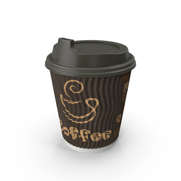 Paper: To-Go Coffee Cup PNG & PSD Images