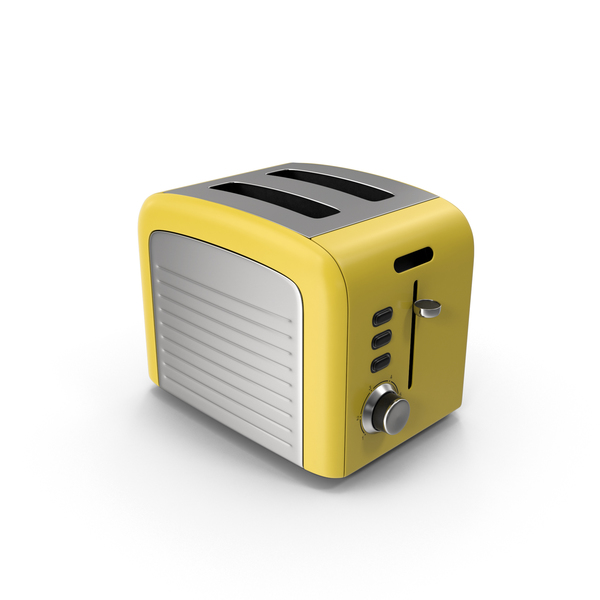 Toaster Yellow PNG & PSD Images