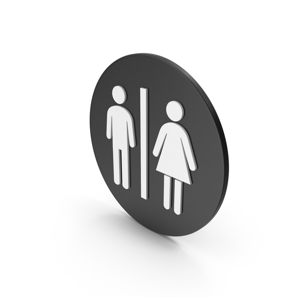 Sign: Toilet Icon PNG & PSD Images