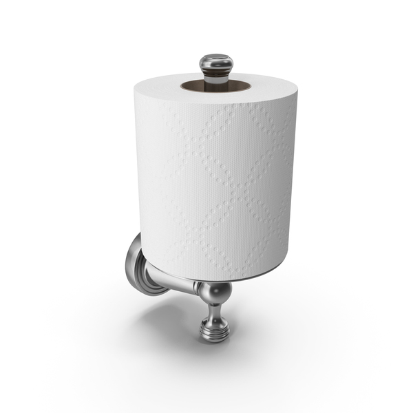 Toilet Paper Holder Chromium PNG & PSD Images