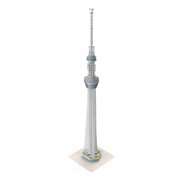 Tokyo Skytree Broadcasting Tower PNG & PSD Images