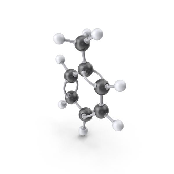 Toluene Molecule PNG & PSD Images