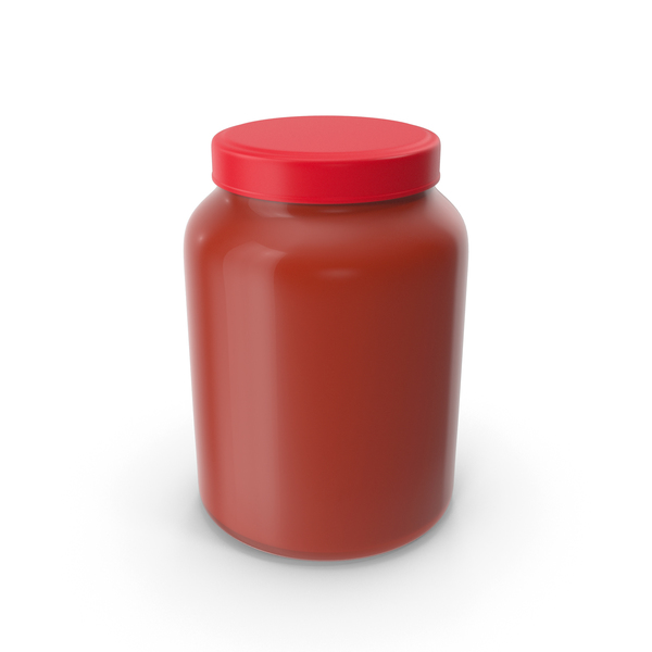 Sauce: Tomato Glass Jar PNG & PSD Images