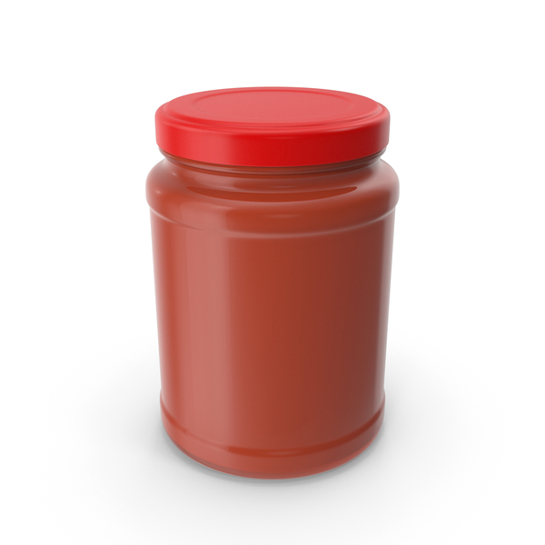 Tomato Sauce Jar No Label PNG & PSD Images
