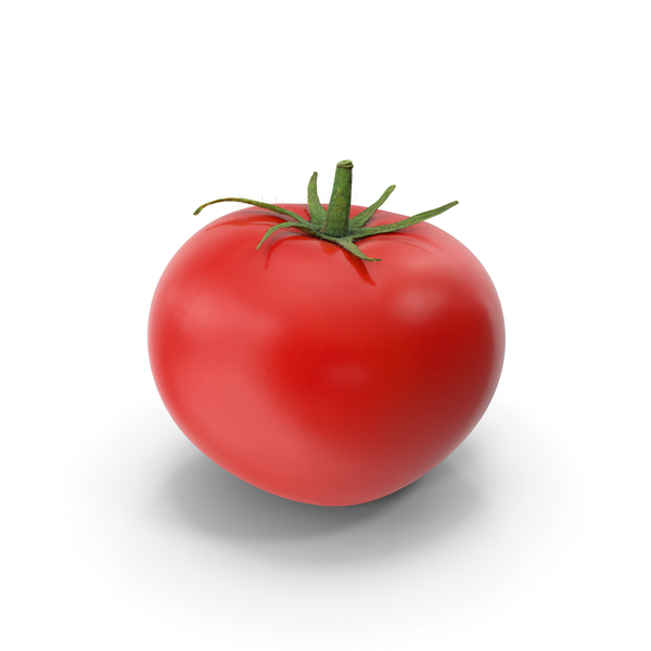 Tomato with Leaf PNG & PSD Images