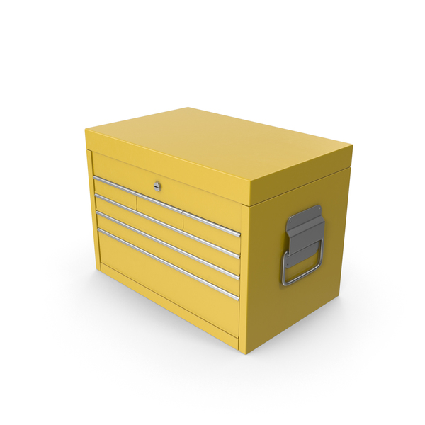 Toolbox Yellow PNG & PSD Images