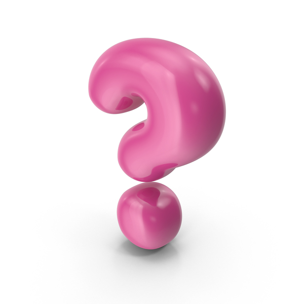 Language: Toon Balloon Question Mark PNG & PSD Images