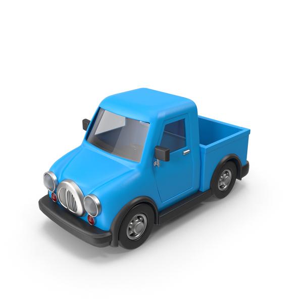 Cartoon Truck: Toon Car PNG & PSD Images