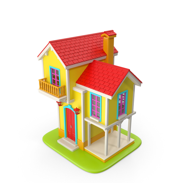 Toon House PNG & PSD Images