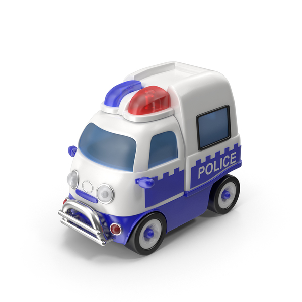 Toon Police Car PNG & PSD Images
